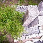 Palisady z granitu szarego