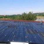 Ocieplenie dachu płaskiego - styropapa