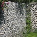 Przęsła ogrodzeniowe z gabionów