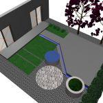projekt zagospodarowania ogrodu przy domu