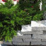 Kamienie murowe z granitu